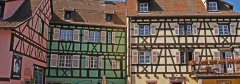 Alsatian houses in Colmar