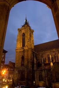 Die Kollegiale St. Martin de Colmar